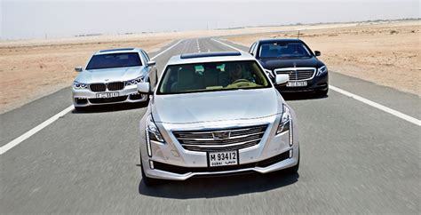 Cadillac Vs Mercedes by Cadillac Ct6 Vs Bmw 7 Series Vs Mercedes S Class Wheels