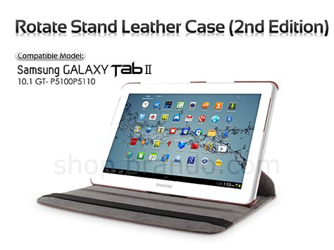 Samsung Tab 2 Second samsung galaxy tab 2 10 1 gt p5100p5110 rotate stand leather 2nd edition
