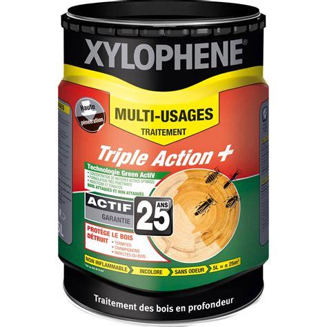 traitement du bois multiusage xylophene 20 ans 5 l