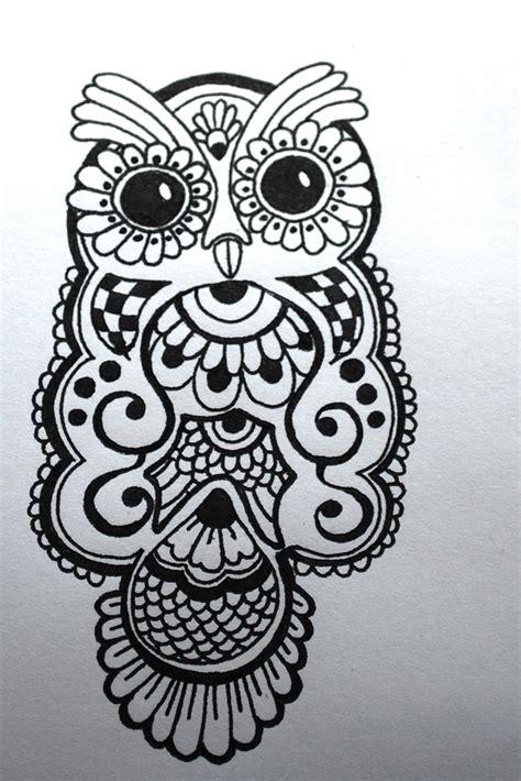owl henna tattoo tumblr henna owl design blogged at lydialark 2011