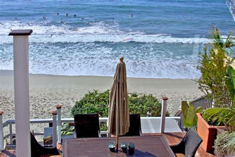 Oceanfront Cottage Is On The Sand In Heart Homeaway House Rentals In Laguna