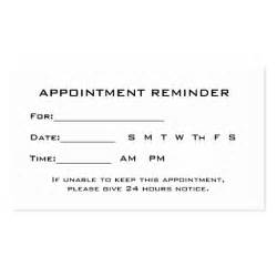 ophthalmologist eye exam appointment reminder business cards
