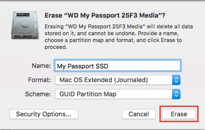 format external hard drive mac scheme how to partition and format a wd drive on windows and