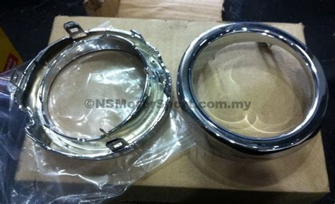 Ring Bumper Luxury Chrome Daihatsu Sigra l260 mira rs front bumper ring chrome p1236311 ns motorsport