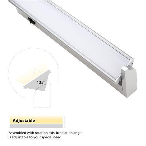 led cabinet lighting hardwired multi function led cabinet lighting fixture