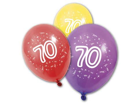 Hochzeit 70 Jahre by 8 Luftballons 70 Jahre Partydeko Und G 252 Nstige