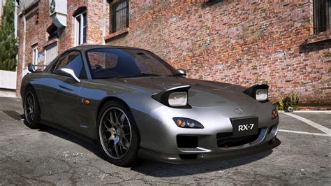 ricer rx7 2002 mazda rx 7 spirit r type a series iii fd3s gta5