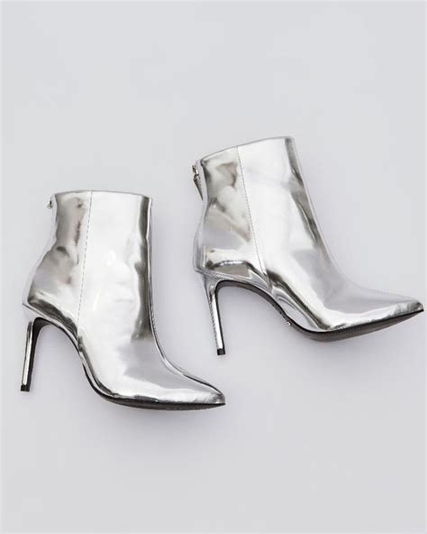 Trend White And Metallic by Metallic And White Boots