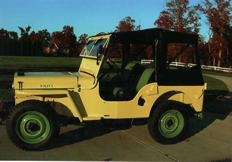 1948 Willys Jeep 1948 Willys Jeep Cj2a 2 Door 71197