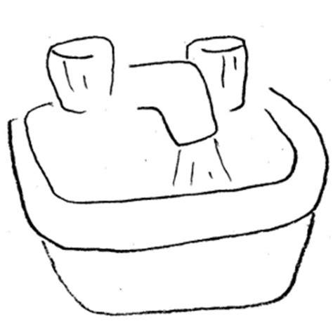 clip art bathroom dothuytinh sink clipart dothuytinh