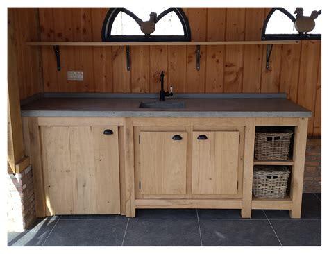 betonnen keukens robuust eiken keuken met betonnen blad houtsmederij