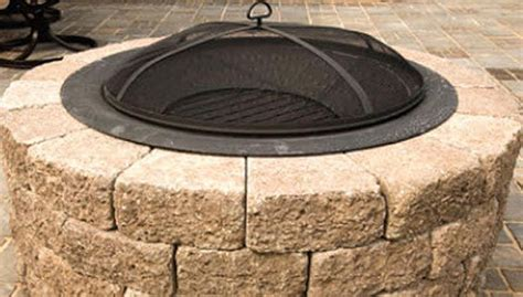 build pit lowes build a patio block pit lowe s do it yourself