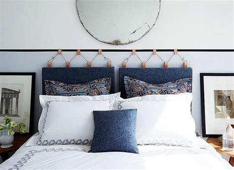 hanging fabric headboard hanging headboard how to make a headboard 14 diy