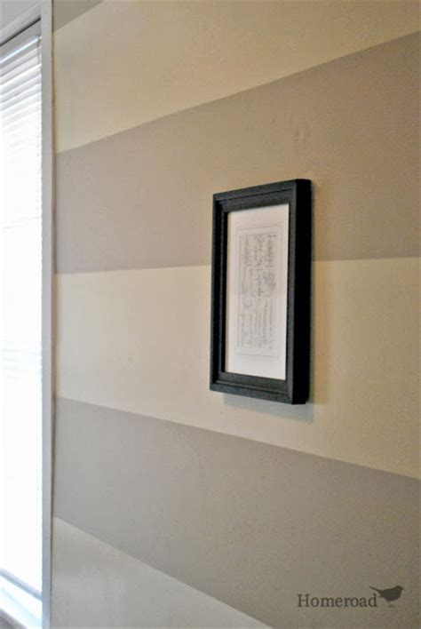 creating wide horizontal stripes on your walls hometalk