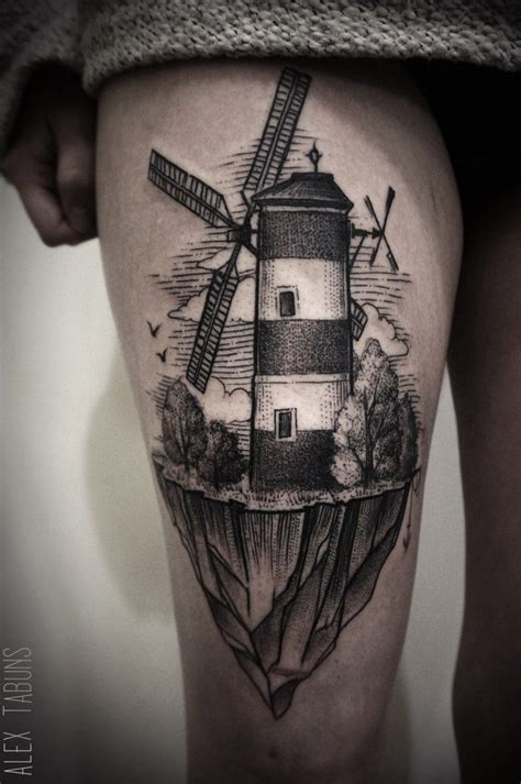windmill tattoo 25 best ideas about windmill on