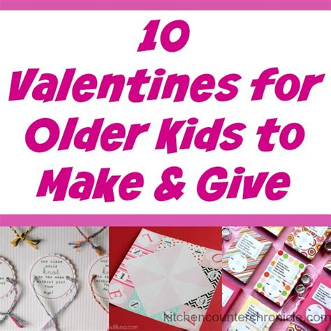 valentines for tweens 10 valentines for to make and give