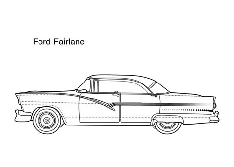 coloring pages of ford cars 17 best images about cars coloring pages on