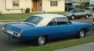 my third car 1972 dodge dart bought used for