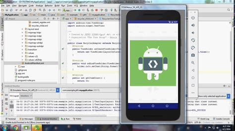 android studio sms tutorial android tutorial 15 recyclerview with cardview android