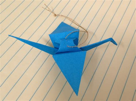 Origami Paper Ornaments - in july origami crane ornaments teachkidsart