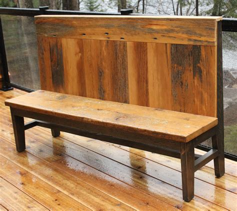 barn bench beautiful barn board bench by rebarn rebarn toronto