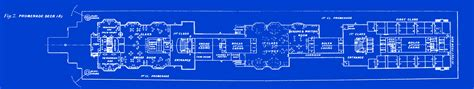 Large House Blueprints by The White Star Liners Olympic And Titanic