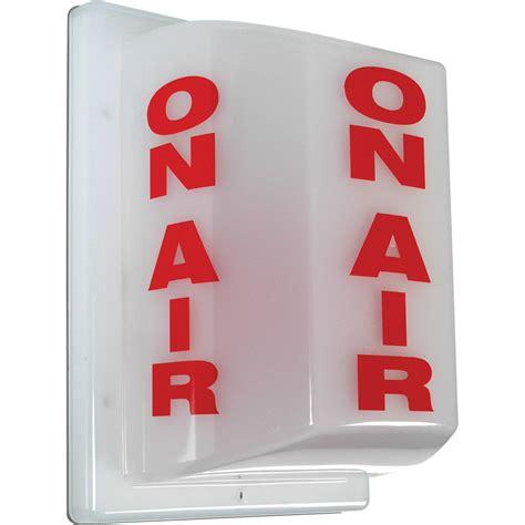 on air sign light tecnec fsl 1 triple sided on air studio warning light fsl