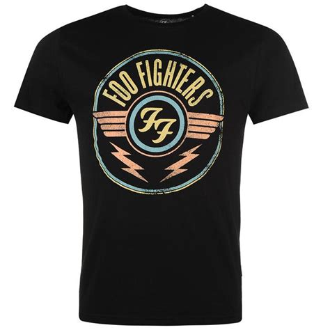 T Shirt Fighter by Official Foo Fighters T Shirt T Shirts