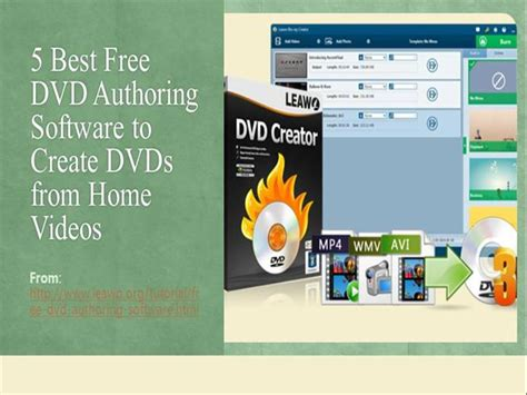the best dvd authoring software of 2016 top ten reviews 5 best free dvd authoring software to create dvds from
