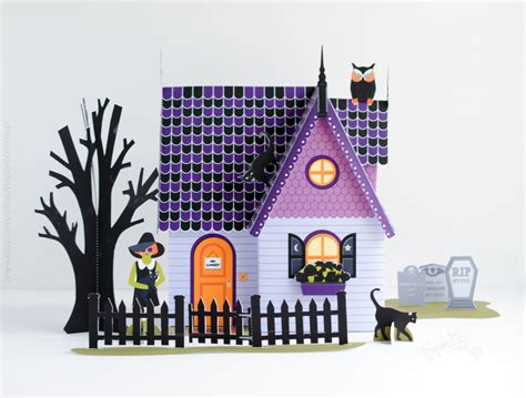 haunted house 2 doll name haunted house kit paper dollhouse printable