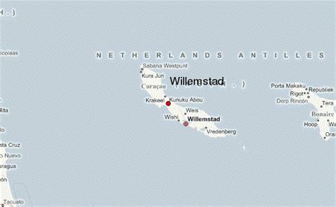 willemstad netherlands antilles map willemstad location guide