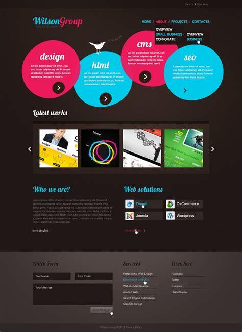 Web Design Joomla Template 33579 Web Design Templates