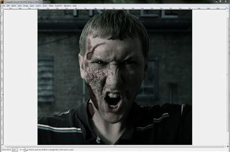 zombie tutorial gimp gimped gimp tutorials gimp tutorial how to make a