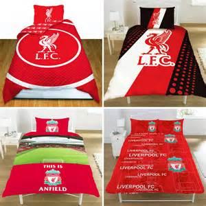 Liverpool Duvet Official Liverpool Fc Football Club Single Crest Duvet