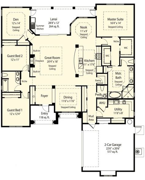 house plans with walk in pantry craftsman house plans with walk in pantry