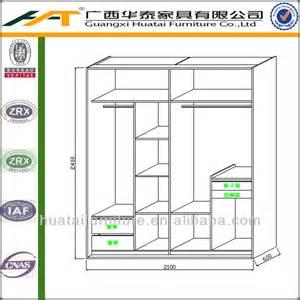 Bedroom Cupboard Dimensions Wardrobe Fashion Closet Clothes Cabinet Wall Wardrobe