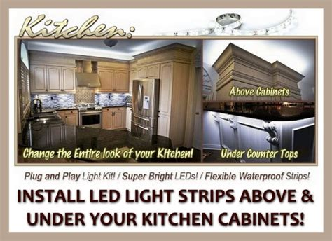 installing led lights under kitchen cabinets what led light strips or ropes are best to install under