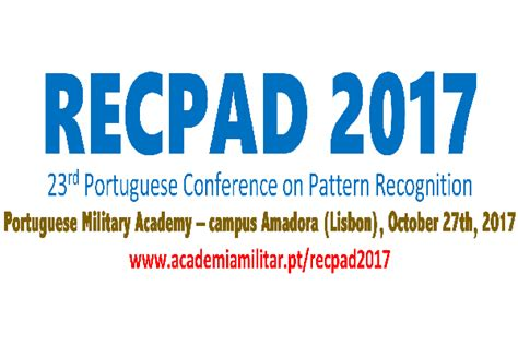 pattern recognition conference academia militar recpad2017