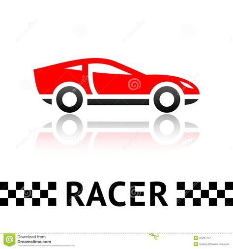 race car symbol royalty free stock photography image