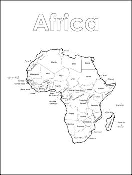 continent map  world map color sheets worksheets