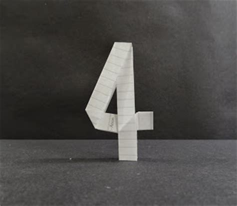 origami number learn origami origami numbers