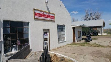 Cabin Creek by Haunted Colorado Ghost Town Of Cabin Creek Up For Sale