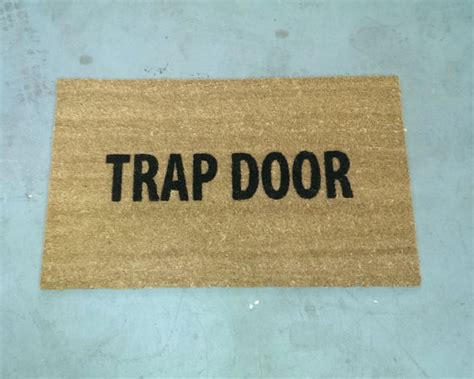 Welcome Mat Size Trap Door Door Mat Size Opts