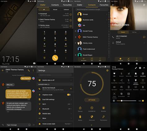 themes samsung xda theme xda exclusive for emui 5 8 last upd huawei p10