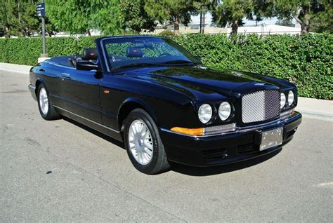 black convertible bentley 2000 black bentley azure convertible