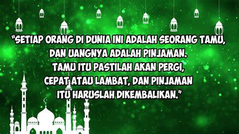 kata kata mutiara islam motivasi hidup status wa islami