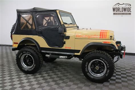 Jeep Tops 1977 Jeep Renegade Fully Restored Lifted 4x4 Two Tops
