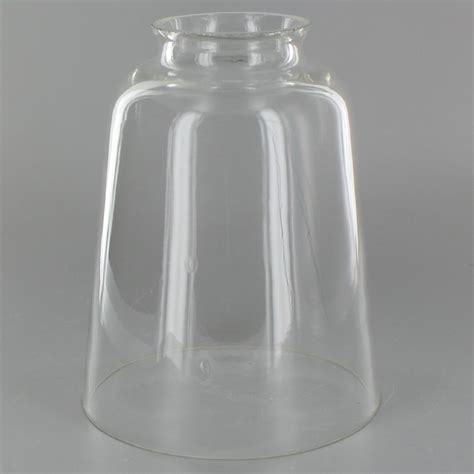 Clear Glass Chandelier Shades L Parts Lighting Parts Chandelier Parts Clear Blown Bell Glass L Shade
