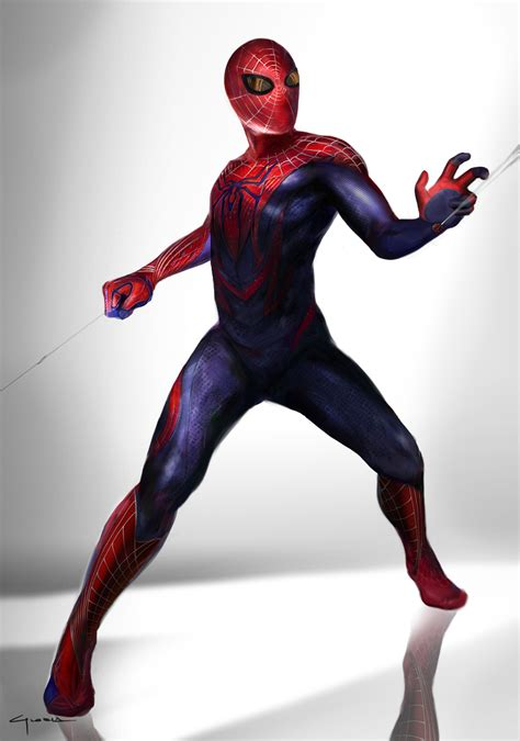 Alternate Spider Man Suit Designs & Concept Art!star trek