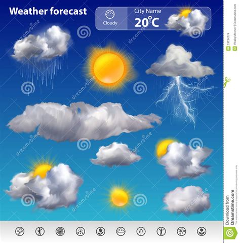 hsr layout weather now weather forecast stock vector image 53134774